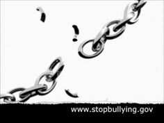 "Break the Chain- short but powerful video about ""breaking the chain"" of bullying, not just being a bystander."