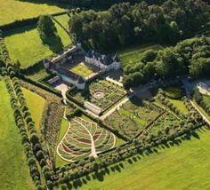 The Gardens Of La Chatonnière Castle - Azay-le-Rideau (37190) - Indre-et-Loire - Centre - France