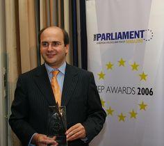 Από την βράβευσή του Κωστή Χατζηδάκη ως  Ευρωβουλευτής της χρονιάς για το 2006
