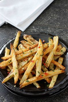 Baked French Fries Recipe
