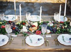 Schofield Floral Company, Tuscan Wedding, Berry Bouquet, Berries, Mallory Renee Photography, Frou Frou Chic, Urbana Custom Clothier