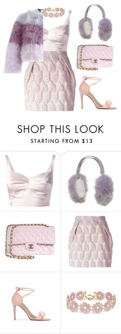 """""""Dolce"""" by twyzter ❤ liked on Polyvore featuring Philipp Plein, Chanel, MSGM, Public Desire, BaubleBar and Daizy Shely"""