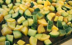 How To: Freeze Zucchini and squash - EXCELLENT INSTRUCTIONS and tips