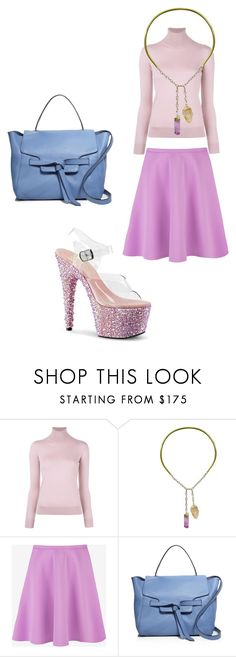 """Untitled #7554"" by bellagioia ❤ liked on Polyvore featuring Ralph Lauren Purple Label, Ricardo Rodriguez, Ted Baker and Annabel Ingall"