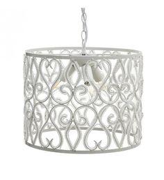 METALLIC_ACRILIC CEILING LAMP W_3 LIGHTS IN WHITE COLOR D36X34_5