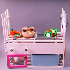 Diy Kids Kitchen, Diy Educational Toys, Diy And Crafts, Crafts For Kids, Indoor Games For Kids, 5 Minute Crafts Videos, Diy For Girls, Diy Birthday, Diy Toys