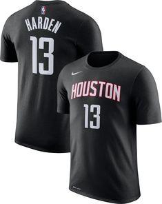 9f6d6ec75951 Nike Men s Houston Rockets James Harden  13 Dri-FIT T-Shirt