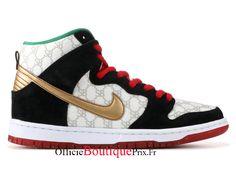 "Dunk High Sb ""paid In Full"" - Nike - 313171 170 - white/metallic gold-black Nike Sportswear, Nike Dunk High, Nike Air Max, Adidas Shoes, Sneakers Nike, Kobe Bryant Shoes, Rihanna Shoes, Basket Nike Air, Stephen Curry Shoes"