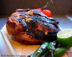 Pollo al Carbon,  Grilled Blackened Chicken