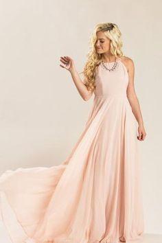 40f52f7072 Ellen Beige Floral Tulle Maxi Dress