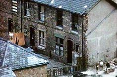 Birmingham's old back-to-back houses