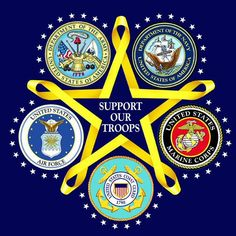 support our troops in all military branches