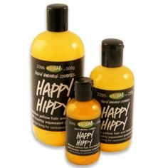 Lush - Happy Hippy shower gel (the smiley and revitalising citrus shower gel for carefree hippies)