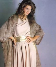 Brooke Shields for Harper's Bazaar Italia, 1981.
