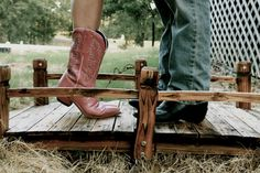Cowgirl boots. Cowboy boots