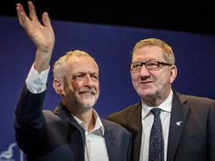 Len McCluskey says Jeremy Corbyn may step down if Labour's poll ratings are 'still awful' - The Independent