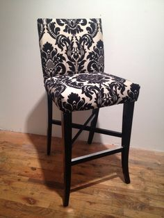 Love this for a sitting room, with some sort of black table with swirly legs. lurve!!