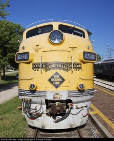RailPictures.Net Photo: BSV 6540 Boone & Scenic Valley Railroad EMD F7(A) at Boone, Iowa by Richard S Marsh