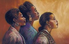 Flowing In The Spirit by Fred Mathews | The Black Art Depot