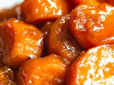 Chicken and Green Bean Stir Fry (With Sweet Chii Sauce Southern Candied Yams, Candied Sweet Potatoes, Mashed Potatoes, Good Meatloaf Recipe, Best Meatloaf, Can Yams Recipe, Candied Yams Recipe With Orange Juice, Stove Top Candied Yams, Deserts
