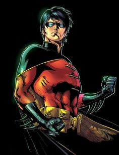 Tim Drake (also known as Tim Wayne) is a fictional comic book superhero from the DC Comics universe. As the third Robin in the Batman comics, he served as Batman's sidekick, and he is a superhero in his own right. He currently uses the superhero identity of Red Robin. Tim Drake was little more than a toddler when he attended the circus with his parents. In order to ease his wife's concerns that the circus might frighten Tim, Jack Drake asked to take a picture with the Flying Graysons, who...