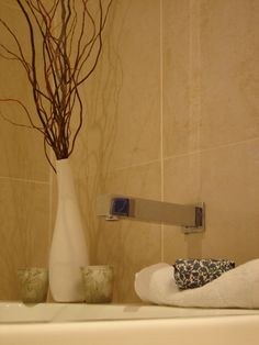 1000 images about willow branch on pinterest curly for Bathroom decor vases