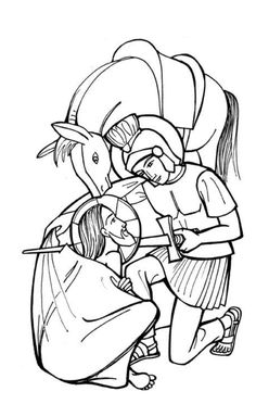 Martin of Tours Catholic Coloring Page.Feast day (Martinmas) is November… Flag Coloring Pages, Flower Coloring Pages, Coloring Pages For Kids, Coloring Books, Catholic Kids, Catholic Saints, Saint Timothy, Barn Quilt Designs, Empire Romain