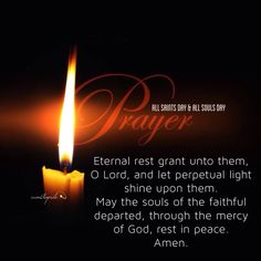 All Souls Day Prayer Cards Let's pray for our departed