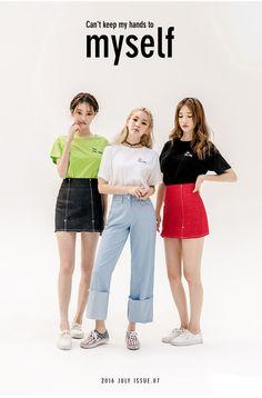 Me, Me, Me Tee | Korean Fashion #chuu