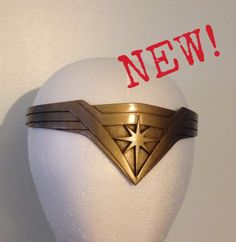 Wonder Woman Tiara headband Batman v Superman Dawn of by GC5FX