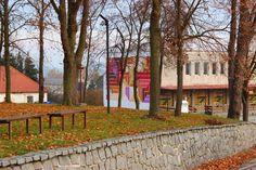 The municipal library Chrastany Library Week, Motto, Street Art, Sidewalk, Wall, Instagram, Design, Side Walkway, Sidewalks