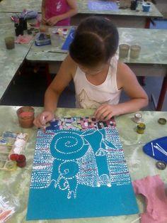 Одноклассники Kids Art Class, Art Lessons For Kids, Art Lessons Elementary, Art For Kids, Drawing For Kids, Painting For Kids, Drawing Activities, 6th Grade Art, Middle School Art