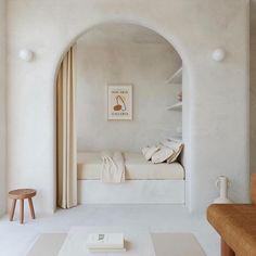 Bedroom Nook, Home Bedroom, Bedroom Decor, Master Bedroom, Bedroom Shelves, Bedroom Signs, Bedroom Ideas, Interior Architecture, Interior And Exterior