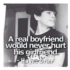 Hayes Grier I love you so much!!!!!