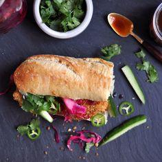 Oven-Fried Chicken Katsu Banh Mi Recipe on Yummly