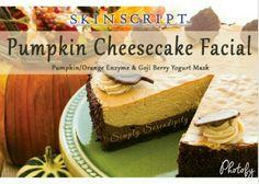 #pumpkincheesecakefacial #skinscriptrx #dayspa #simplyserendipity #paulsvalleyok