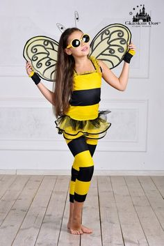 """Пчелка ""Гламур"" Рост: 116 - 122 см., 122 - 128 см.  Сайт:) http://skazkindom.dp.ua"