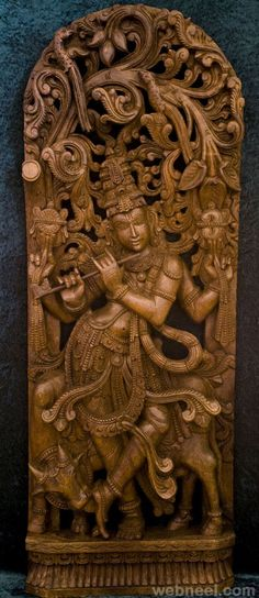 40 Beautiful Wood Carving Sculptures and Designs from around the world | Read full article: http://webneel.com/wood-carving | more http://webneel.com/sculpture-works | Follow us www.pinterest.com/webneel