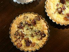 Caramelized Onion and Bacon Quiche, from My Daily Morsel