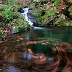 Marco Giovinazzo / 500px One of the many waterways that are in the Aspromonte National Park