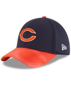 New Era Chicago Bears Sideline 39THIRTY Cap - Navy Orange L XL New Era 0fee2c202191