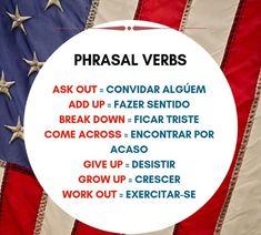 Alguns Phrasal Verbs.