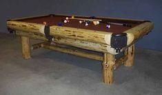 Rustic Pool Table.