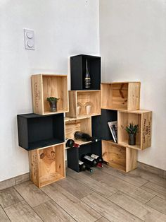 Innovation Design, Crates, Sweet Home, New Homes, Camping, Shelves, House Styles, Inspiration, Home Decor