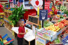 Kid Zone at San Diego. Fuel up with fruits and veggies!