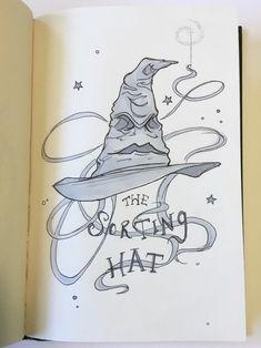 Ideas Birthday Card Harry Potter Sorting Hat For 2019 Harry Potter Hat, Harry Potter Clip Art, Harry Potter Sorting Hat, Harry Potter Painting, Arte Do Harry Potter, Harry Potter Cartoon, Harry Potter Artwork, Harry Potter Wallpaper, Harry Potter Characters