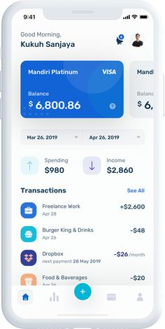 Apps | Mobile Android App Design, Ios App Design, Mobile Web Design, Personal Finance App, Budget App, App Design Inspiration, Mobile App Ui, Likes App, Followers
