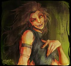 scar human - Treespirit Miloard