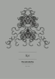 typography posters for an imaginary exhibition cycle (phenomenons). 3rd exhibition - Kitsch  ©Peter Rod 2012