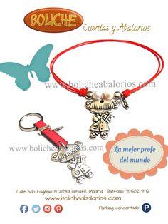 #regalosprofesoras, #pulserasconmensaje, #pulserasdedicadas, www.bolicheabalorios.com